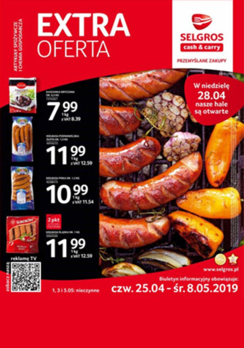 Gazetka promocyjna Selgros Cash&Carry - ważna od 24. 04. 2019 do 08. 05. 2019