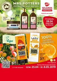 Gazetka promocyjna Selgros Cash&Carry - Gazetka promocyjna - ważna do 08-05-2019