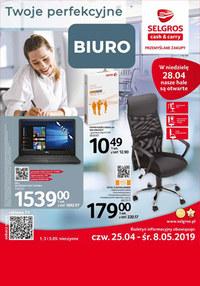 Gazetka promocyjna Selgros Cash&Carry - Moje perfekcyjne biuro - ważna do 08-05-2019