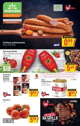 Gazetka promocyjna Stokrotka, ważna od 25.04.2019 do 29.04.2019.