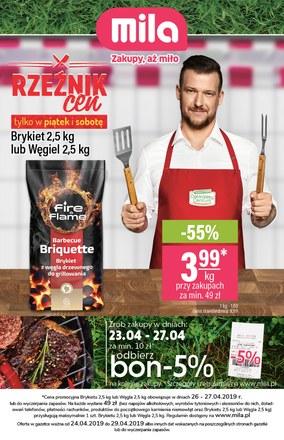 Gazetka promocyjna MILA, ważna od 24.04.2019 do 29.04.2019.