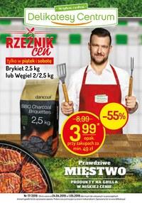Gazetka promocyjna Delikatesy Centrum - Rzeźnik cen - ważna do 01-05-2019
