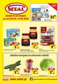 Gazetka promocyjna Sedal - Gazetka promocyjna - ważna do 12-05-2019