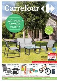 Gazetka promocyjna Carrefour - Twój piękny kawałek wiosny  - ważna do 11-05-2019