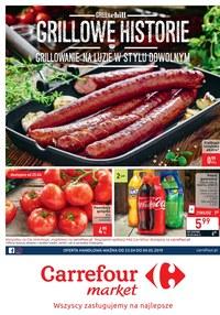 Gazetka promocyjna Carrefour Market - Grillowe historie - ważna do 04-05-2019