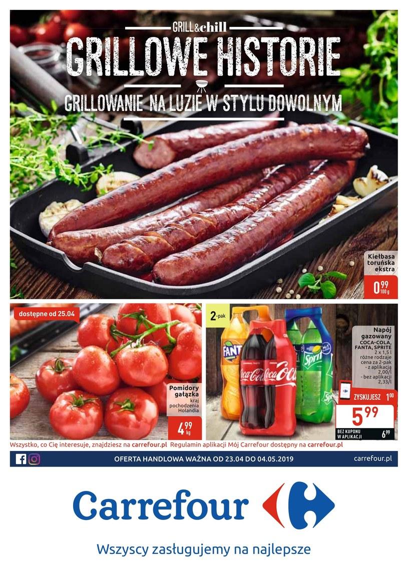 Gazetka promocyjna Carrefour - ważna od 22. 04. 2019 do 04. 05. 2019