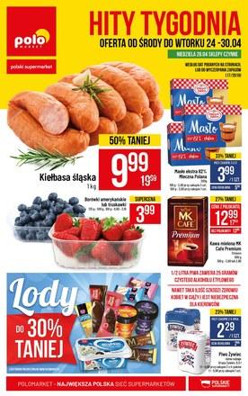 Gazetka promocyjna POLOmarket, ważna od 24.04.2019 do 30.04.2019.