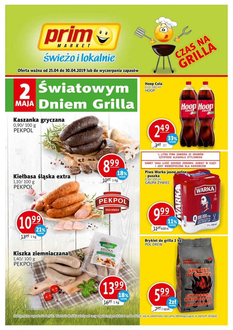 Gazetka promocyjna Prim Market - ważna od 24. 04. 2019 do 30. 04. 2019
