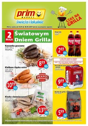 Gazetka promocyjna Prim Market, ważna od 25.04.2019 do 30.04.2019.