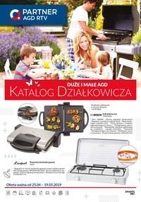 Gazetka promocyjna Partner AGD RTV  - Katalog działkowicza  - ważna do 19-05-2019