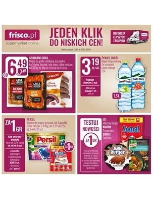 Gazetka promocyjna Frisco, ważna od 23.04.2019 do 07.05.2019.