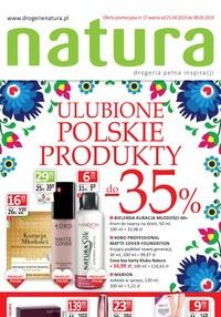 Gazetka promocyjna Drogerie Natura - Ulubione Polskie Produkty  - ważna do 08-05-2019