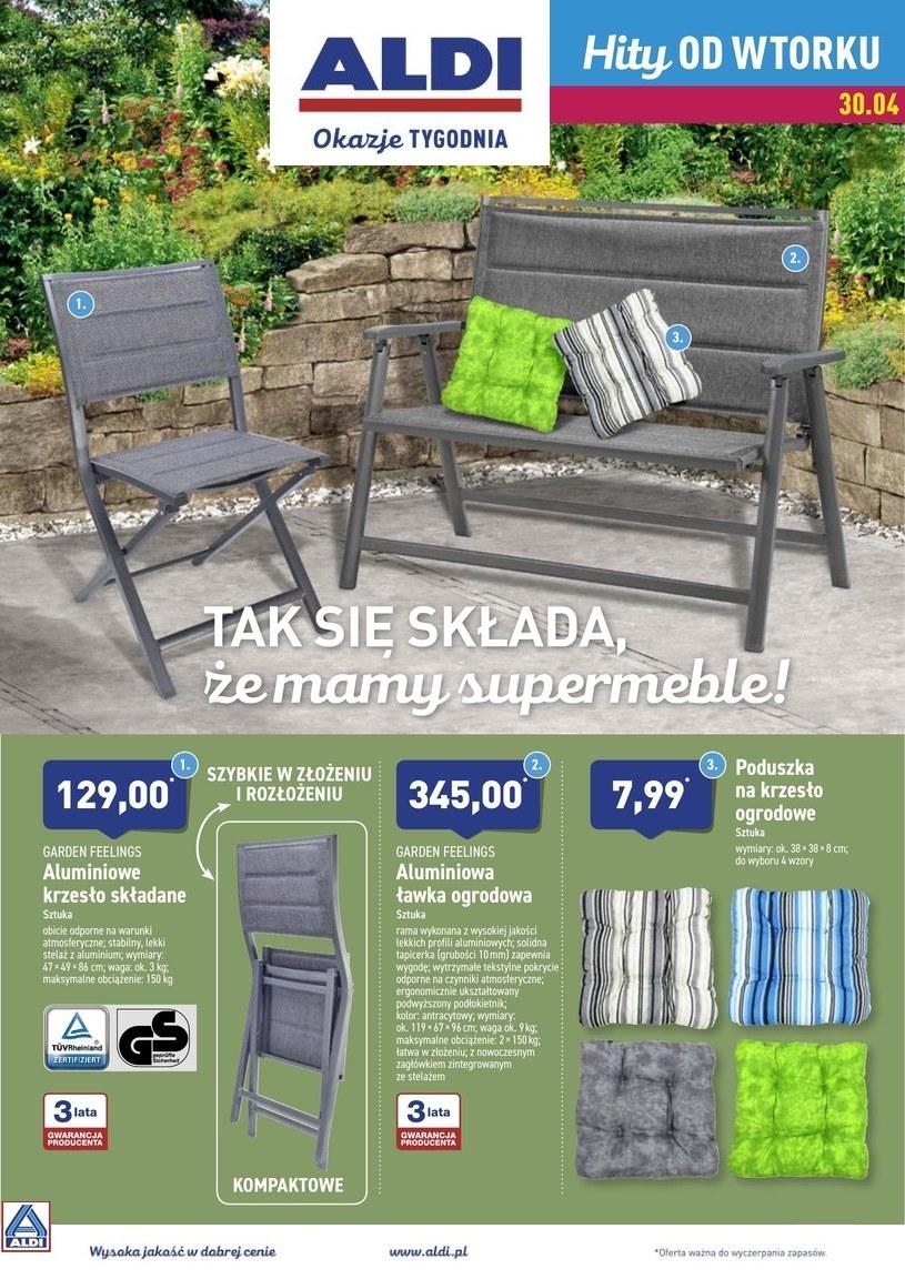 Gazetka promocyjna Aldi - ważna od 29. 04. 2019 do 04. 05. 2019