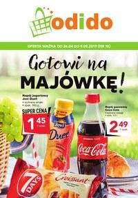 Gazetka promocyjna Odido - Gotowi na Majówkę! - ważna do 09-05-2019