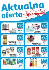 Gazetka promocyjna Auchan - Aktualna oferta skarbonka  - ważna do 06-05-2019