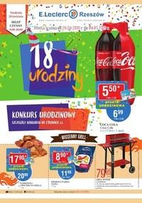Gazetka promocyjna E.Leclerc - 18 urodziny - Rzeszów   - ważna do 04-05-2019