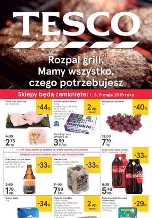 Gazetka promocyjna Tesco, ważna od 30.04.2019 do 06.05.2019.