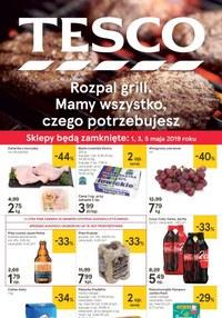Gazetka promocyjna Tesco Hipermarket - Rozpal grill - ważna do 06-05-2019