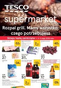 Gazetka promocyjna Tesco Supermarket - Rozpal grill - supermarket - ważna do 06-05-2019
