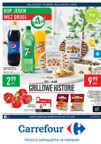 Gazetka promocyjna Carrefour - Grillowe historie - ważna do 11-05-2019