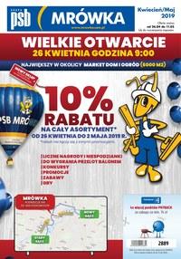 Gazetka promocyjna PSB Mrówka - Wielkie otwarcie - Podrzecze - ważna do 11-05-2019