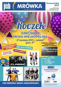 Gazetka promocyjna PSB Mrówka - Roczek - Środa Wielkopolska - ważna do 11-05-2019
