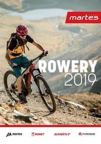 Gazetka promocyjna Martes Sport - Katalog rowerowy 2019  - ważna do 31-05-2019