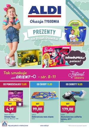 Gazetka promocyjna Aldi - Prezenty na Dzień Dziecka