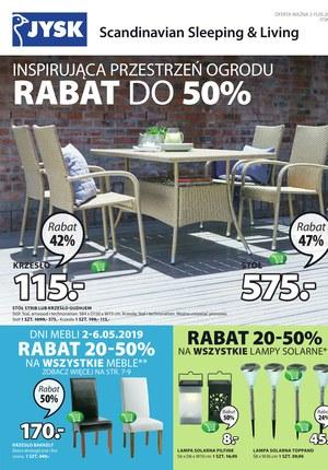 Gazetka promocyjna Jysk - Rabat do 50%