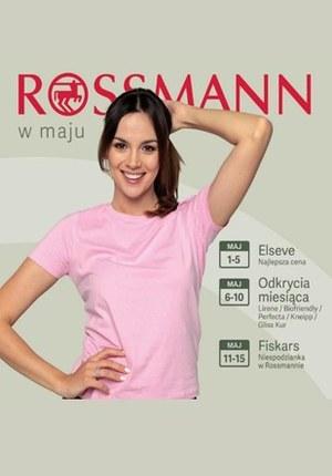 Gazetka promocyjna Rossmann, ważna od 01.05.2019 do 15.05.2019.