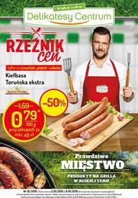 Gazetka promocyjna Delikatesy Centrum - Rzeźnik cen - ważna do 08-05-2019