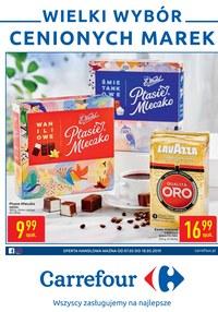 Gazetka promocyjna Carrefour - Wielki wybór cenionych marek  - ważna do 18-05-2019