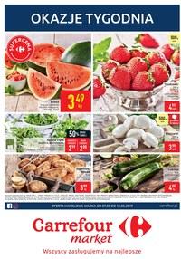 Gazetka promocyjna Carrefour Market - Okazje tygodnia - ważna do 13-05-2019