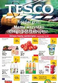 Gazetka promocyjna Tesco Hipermarket - Rozpal grill  - ważna do 15-05-2019
