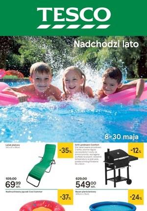 Gazetka promocyjna Tesco Hipermarket - Nadchodzi lato
