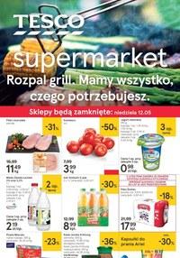 Gazetka promocyjna Tesco Supermarket - Gazetka promocyjna  - ważna do 15-05-2019