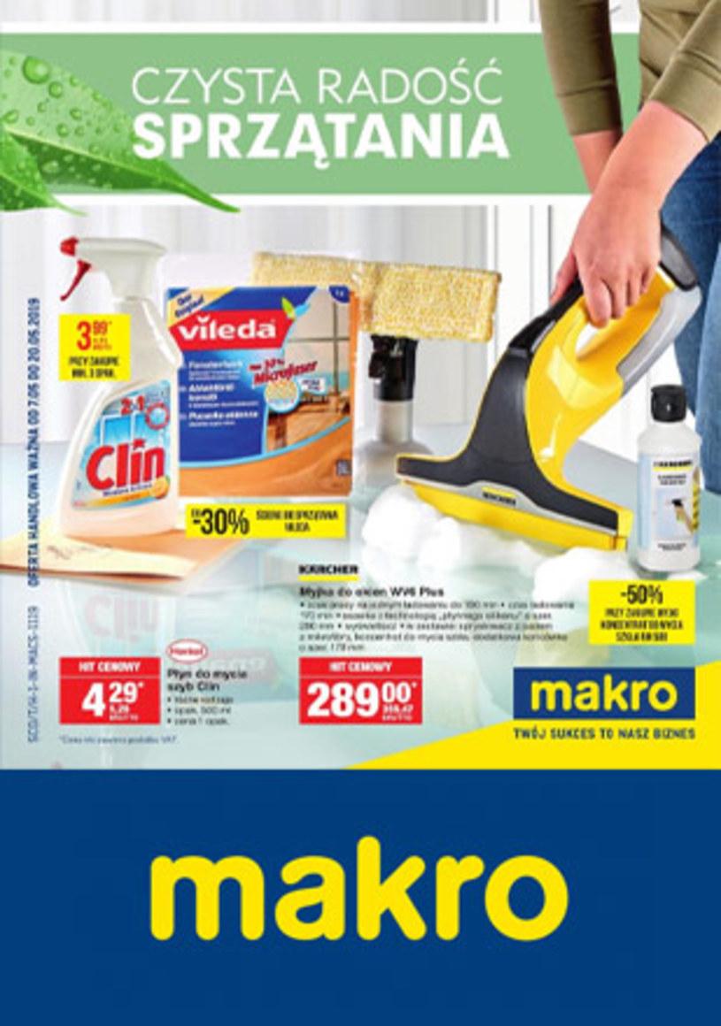 Gazetka promocyjna Makro Cash&Carry - ważna od 07. 05. 2019 do 20. 05. 2019