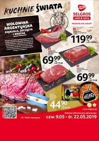 Gazetka promocyjna Selgros Cash&Carry, ważna od 09.05.2019 do 22.05.2019.