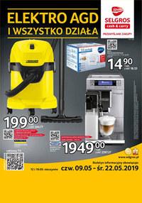 Gazetka promocyjna Selgros Cash&Carry - Elektro AGD - ważna do 22-05-2019