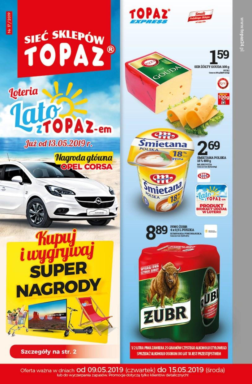 Gazetka promocyjna Topaz - wygasła 5 dni temu