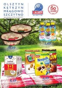 Gazetka promocyjna Społem Olsztyn, ważna od 09.05.2019 do 20.05.2019.