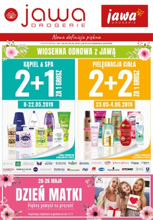 Gazetka promocyjna Jawa Drogerie, ważna od 07.05.2019 do 04.06.2019.