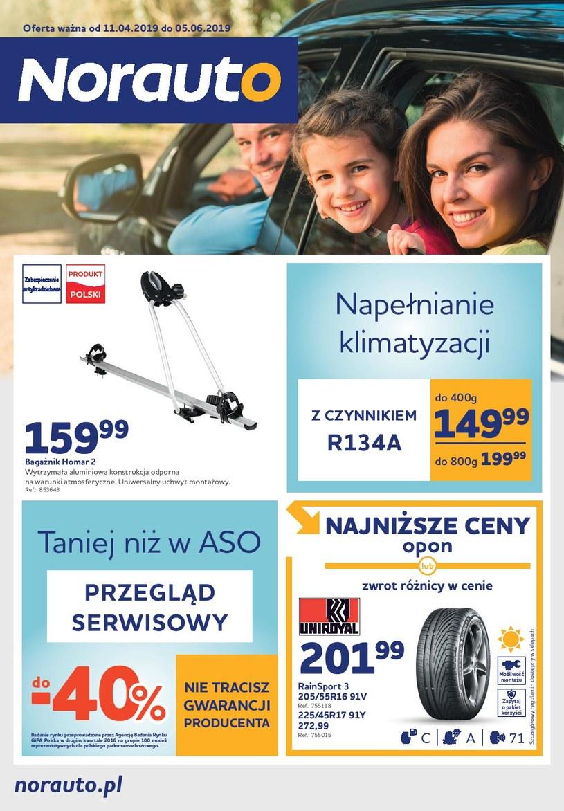 Gazetka promocyjna Norauto - ważna od 11. 04. 2019 do 05. 06. 2019
