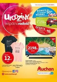 Gazetka promocyjna Auchan - Urodziny Auchan - Hipermarket - ważna do 15-05-2019