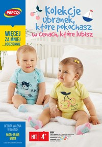 Gazetka promocyjna Pepco - Kolekcje ubranek, które pokochasz - ważna do 15-05-2019