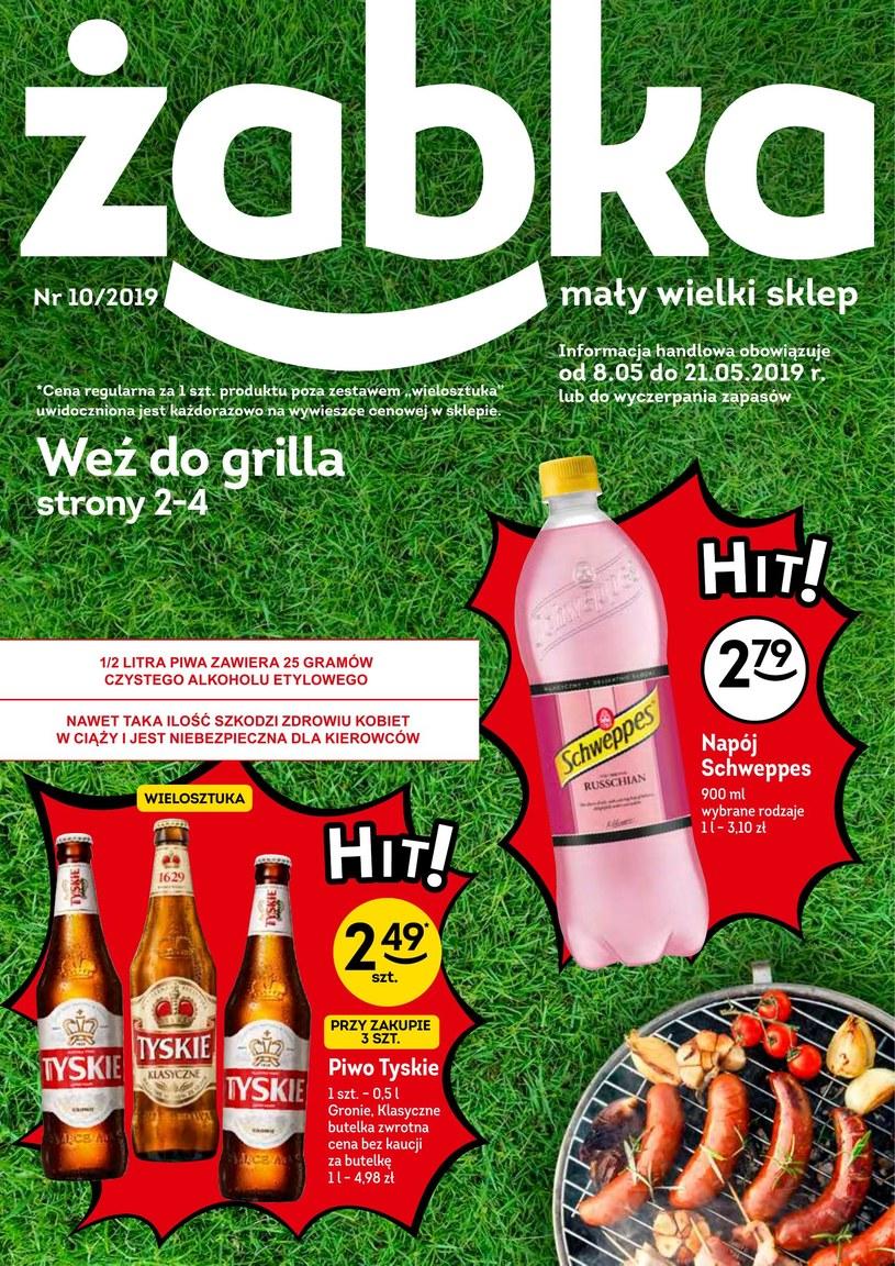 Gazetka promocyjna Żabka - ważna od 08. 05. 2019 do 21. 05. 2019
