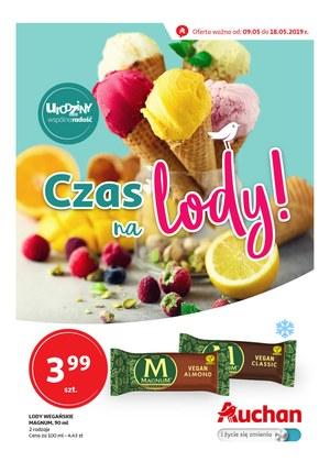 Gazetka promocyjna Auchan - Czas na lody