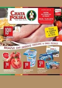 Gazetka promocyjna Chata Polska - Gazetka promocyjna - ważna do 15-05-2019