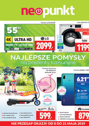 Gazetka promocyjna NEOPUNKT, ważna od 08.05.2019 do 21.05.2019.