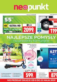Gazetka promocyjna NEOPUNKT - Gazetka promocyjna  - ważna do 21-05-2019